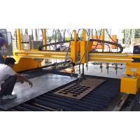 China 4M Span VFD Control CNC Plasma Cutting Machine With P105 Hypertherm Power on sale