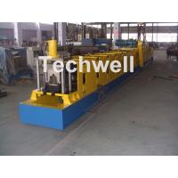 Cheap Wall Plate Structure Cold Roll Forming Machine With 0-15m/Min Forming Speed For Making Top Hat Channel wholesale