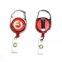 Cheap Fashion Durable Retractable Badge Reels Free Artwork Under Customer Logo for sale