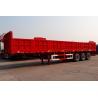 Buy cheap 3 axle cargo semi trailer fence semi trailer in truck trailer - CIMC VEHICLE from wholesalers