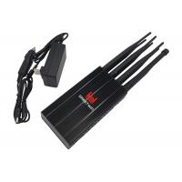 Quality Long Distance Powerful LTE Mobile Phone Signal Jammer 20m Jamming Range for sale