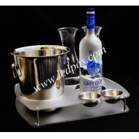 Grey Goose Bucket & Bottle Serving Tray