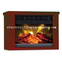 Cheap Home Bedroom Remote Control Fireplace 1200W with wood grain paiting plastic frame wholesale