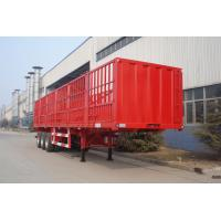 Buy cheap 40T flatbed semi trailer Side Wall Semi-Trailer - CIMC VEHICLE from wholesalers