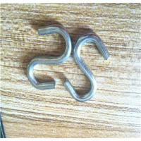Cheap Stamping Process 304/316 Stainless Steel S Hooks , Small S Shaped Hooks wholesale