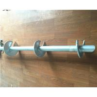 Cheap Hot Dip Galvanized Helical Pile Foundations Ground Screw Pole Anchor wholesale