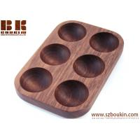 Cheap High quality refined and elegant look handcrafted wooden egg carton 25.5*10.5*2.1cm & customized wholesale