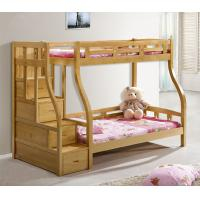 Beech Wood Solid Wood Adult Bunk Bed Children Bed Double