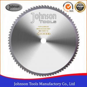 Cheap TCG Type Sharp Cutting Blade / Tct Saw Blade For Aluminum Johnson Tools wholesale