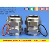 Cheap SS304, SS304L, SS316 & SS316L Stainless Steel Cable Glands Cable Joints with IP68 Rating wholesale