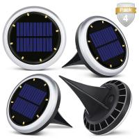 Cheap White Solar Powered LED Ground Lights / Solar Lights For Driveway Entrance wholesale