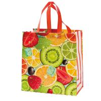 Cheap Multi Color Eco Friendly Non Woven Shopping Bag , Laminated Grocery Bag wholesale