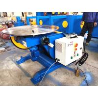 China 1.5KW Tilting Tube Welding Positioners With Hand Control Box Fully European Standard on sale