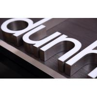 Cheap Stainless Steeel Edge LED Channel Letters Outside Decoration No Color Fading wholesale