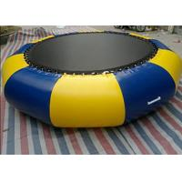Cheap Outdoor 0.9mm Pvc Tarpaulin Inflatable Watertrampoline For Water Sports Game wholesale
