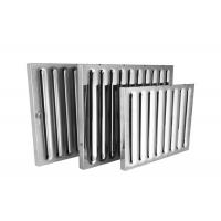 Cheap Aluminum Baffle Grease Filters Kitchen Exhaust Hood Filters Restaurant Use wholesale