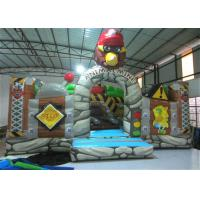 Cheap New The Gorilla Inflatable Fun City Animals The construction inflatable Amusement Park For Children under 12 years wholesale