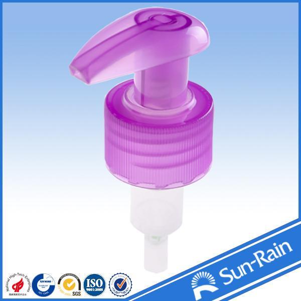 Quality 24mm 28mm Plastic lotion pump / liquid dispenser for shampoo bottle for sale