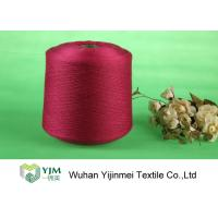 Cheap High Tenacity Ring Spun Dyed Polyester Yarn , 100% Virgin Polyester Color Yarn Dyeing wholesale