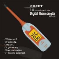 Cheap 10 Seconds Digital Thermometer with Light Backup KFT-05L wholesale