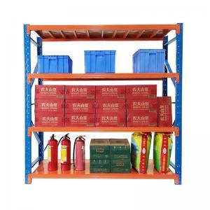 Cheap Medium Duty Warehouse Steel Shelving Racks 2000mm Width 200 - 500kg Loading Capacity wholesale
