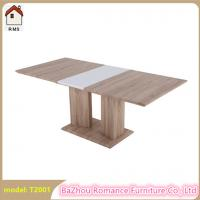 China new extendable MDF wood dining table wooden dining table T2001 on sale