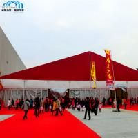 China Transparent Outdoor Exhibition Event Tent with UV Protected Tarpaulin on sale