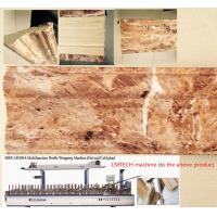 Buy cheap skirting boards durban Profiles wrapping machine with CE certificate from wholesalers