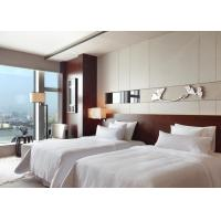 Buy cheap Custom Made Commercial King Size Bedroom Furniture For 5 Star Hilton Hotel from wholesalers