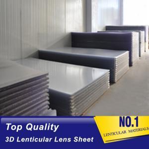Cheap PLASTIC LENTICULAR 100 lpi flip lens sheet 3d lenticular 0.35mm PET film matericals lenticular plastic sheet material wholesale