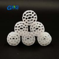 China HDPE White MBBR Media / Water Treatment Diy Moving Bed Filter Media CE on sale
