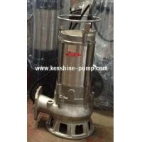 Cheap S Series stainless steel submersible sewage pump wholesale