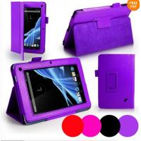 Cheap Colorful PU Leather Acer Tablet Case For Acer Iconia B1-A71 Lychee Pattern wholesale