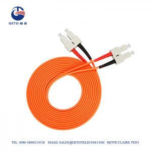 Cheap SC To SC Multimode 5m 10m 15m Optic Fiber Patch Cord wholesale