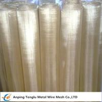 Cheap Brass Wire Mesh|Square or Rectangle Hole Made by 70 Brass for Filter Liquid wholesale