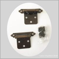 Self Closing Commercial Spring Loaded Door Hinges For Furniture Hardware Bright Brass Plated