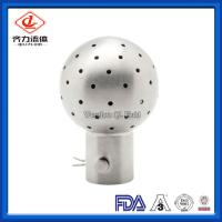 Cheap Food Grade Sanitary Tank Fittings Dust Proof 1.25-2.0 M Cleaning Radius wholesale
