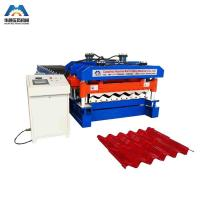 Cheap Custom 13 - 22 Forming Station Metal Roof Tile Roll Forming Machine For Color Steel Tile wholesale
