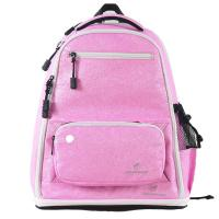 Cheap Pink Sparkle Cheer Backpack , Casual Style Girls Glitter Backpack 20-35 Litre wholesale