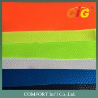 Width 137cm PVC Artificial Leather Non Woven Backing Material For Shoes