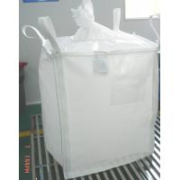 Recycled 1000kg PP bulk bags Flexible Intermediate Bulk Containers Bag with 4 sling loops