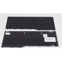 Cheap Notebook keyboard For Fujitsu Lifebook AH552 Black With Frame US Laptop Keyboard for sale