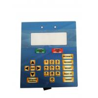 Cheap Membrane Switch Foil Keyboard Four - Color Printing Panel 0.05-1.0mm Thickness wholesale