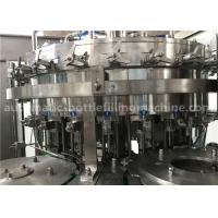 Cheap 6.57KW Power Carbonated Drink Filling Machine PE Srew Cap For Gas Contained Beverage wholesale