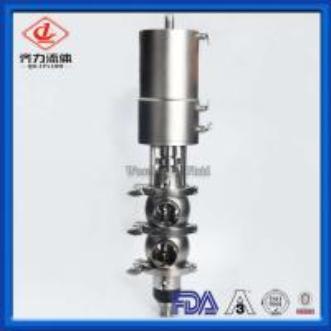 Cheap Anti Mix EPDM Pneumatic Reversing Valve Heat Resistant Long Working Life wholesale