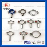Cheap Adjustable Sanitary Pipe Holder Durable Customized Size Tubing Hanger wholesale