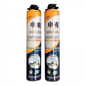 Cheap Heat Resistant 750ML One Component Hardener Pu Foam Spray Adhesive wholesale