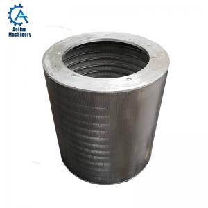Cheap Stainless steel Screen Cylinder wedge wire pressure screen basket wholesale