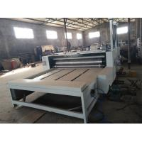 Cheap 2 Colors Print And Die Cut Production Line For Corrugated Boxes Printing wholesale