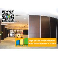 Cheap 85mm Movable Sound Proof Aluminum Partition Wall For Office And Restaurant for sale